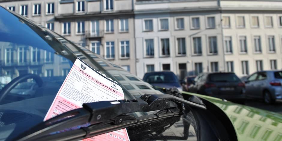 Stationnement: l'impossible harmonie bruxelloise (INFOGRAPHIE) - La Libre