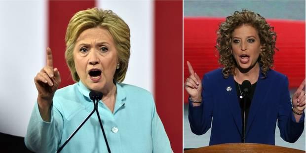 Critiquée par les démocrates, Hillary Clinton est fragilisée à la veille de sa convention - La Libre