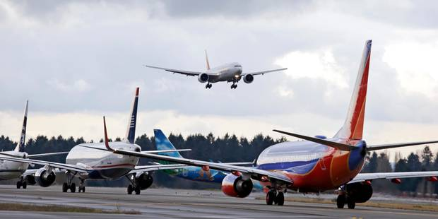 Etats-Unis: vers une réglementation des émissions de CO2 des avions commerciaux - La Libre