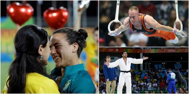 Une demande en mariage, une nuit alcoolisée, un athlète qui sort de ses gonds: les infos insolites de ce mardi à Rio (VI...