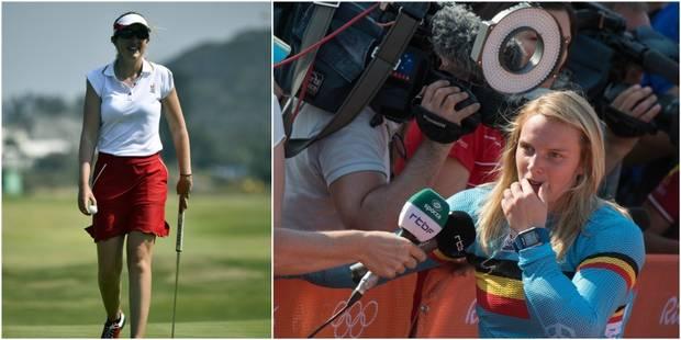 Les Belges à Rio: pas de médaille pour Elke Vanhoof en BMX, Chloé Leurquin redresse la barre lors du 3e tour de golf - L...