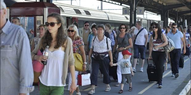 Plus de 2 millions de vacanciers sont allés à la mer en train cet été - La Libre