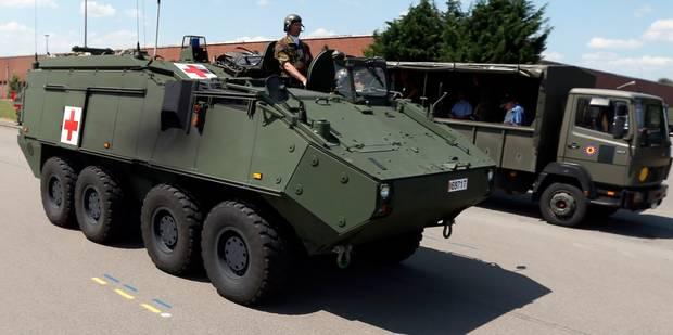 L'heure des mauvaises nouvelles approche à l'armée: les casernes de Tournai et Nivelles vont fermer - La Libre