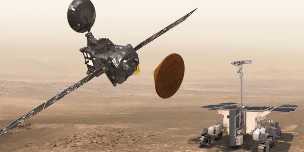 Mascot, Osiris, ExoMars? Voici de quoi se consoler de la mort de Rosetta - La Libre
