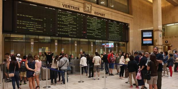 Situation rétablie à la Gare Centrale de Bruxelles après l'examen d'un colis suspect - La Libre