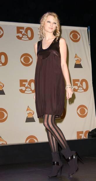 En décembre 2007, première participation au Grammy Awards. Lors de la soirée qui rassemble les nommés.