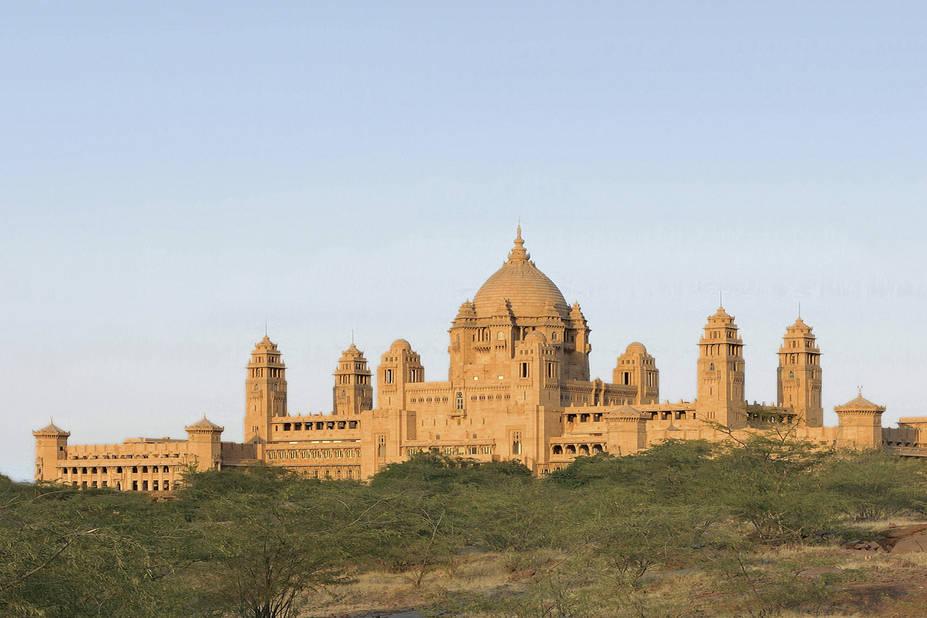 4. Umaid Bhawan Palace (groupe Taj), Jodhpur (Inde)