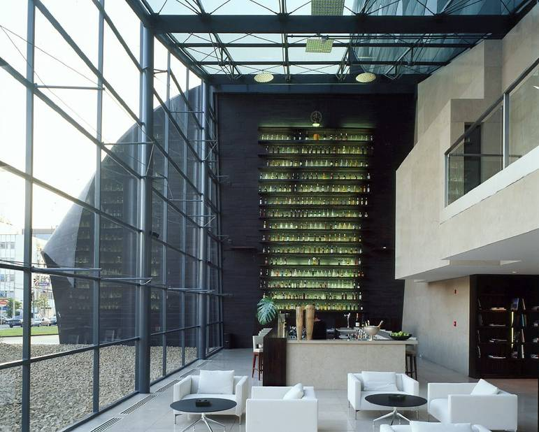 8. Hotel Unique, São Paulo (Brésil)