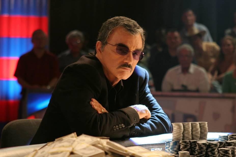Burt Reynolds, jamais sans sa moustache