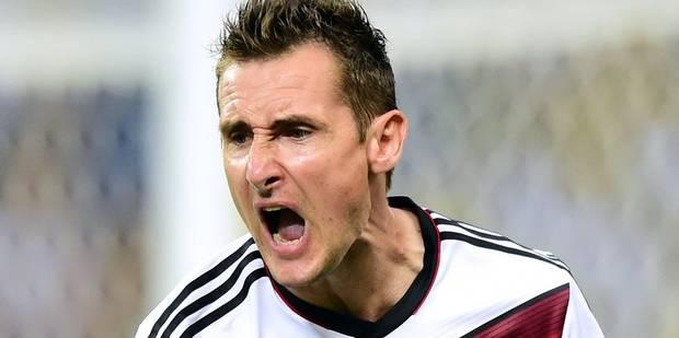 Miroslav Klose met fin à sa carrière - La Libre