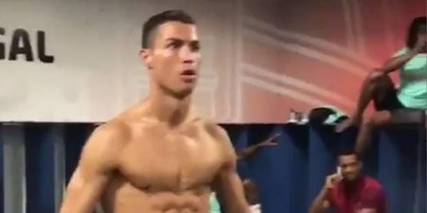 Cristiano Ronaldo montre ses abdos dans un Mannequin Challenge de l'équipe du Portugal (VIDEO) - La Libre