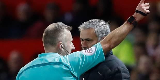 Mourinho à nouveau poursuivi par la Fédération pour mauvaise conduite (VIDEO) - La Libre