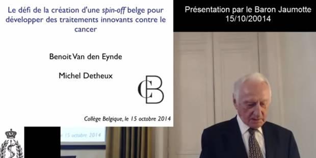 André Jaumotte a ouvert l'ULB aux grandes mutations - La Libre