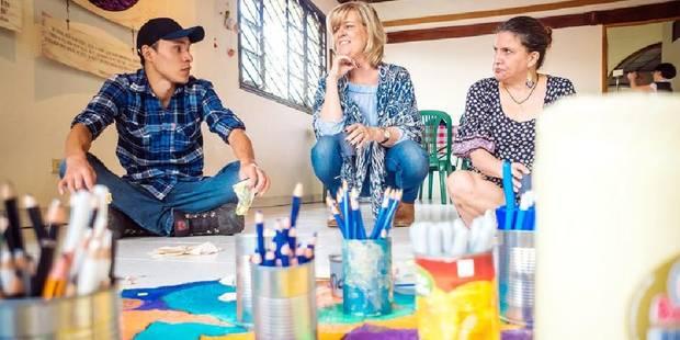 Christine Meert, la Belge qui veut bâtir la paix en Colombie - La Libre