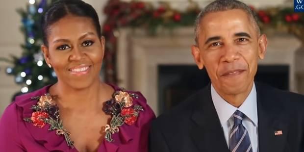 Voici le dernier message de Noël du président Obama (VIDEO) - La Libre