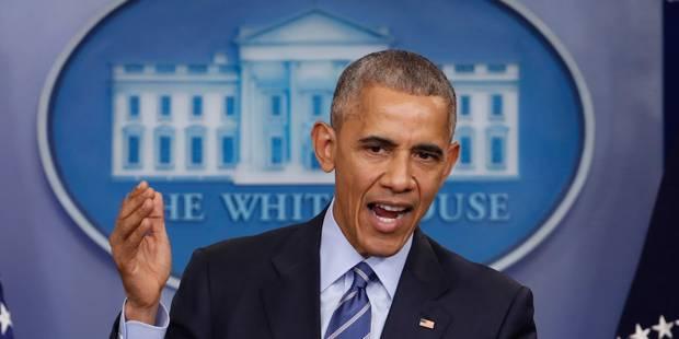 """Barack Obama considère la présidence comme un """"privilège"""" - La Libre"""