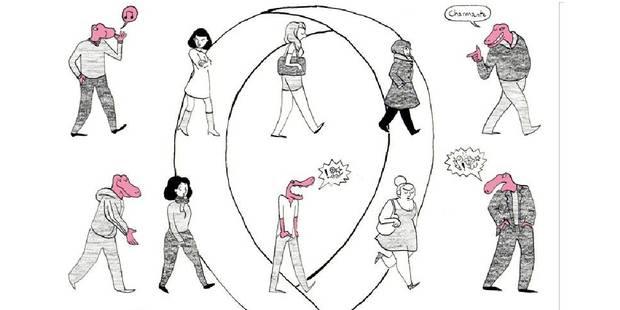 """La loi contre le harcèlement de rue fait """"pschitt"""" - La Libre"""