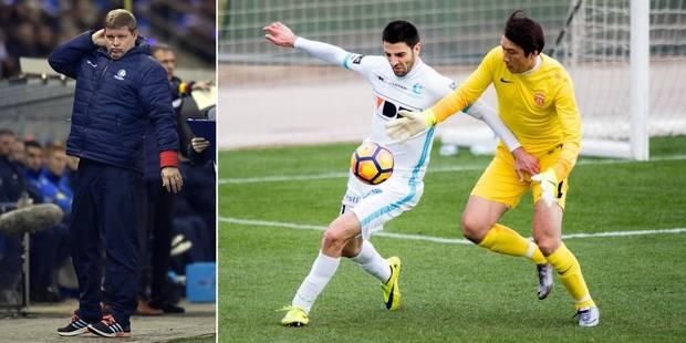 """Vanhaezebrouck critique le foot chinois: """"C'est bien pire que ce que j'avais osé imaginer"""" - La Libre"""