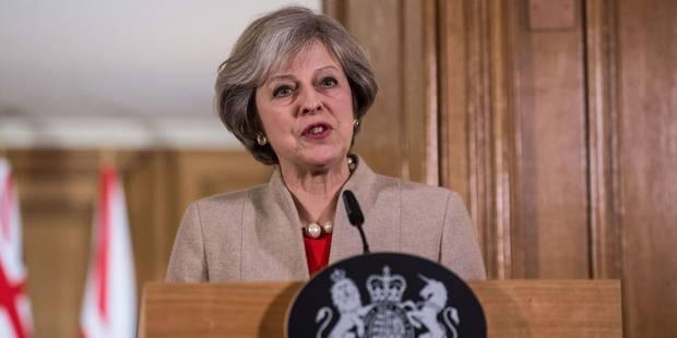 """Theresa May devrait annoncer un Brexit """"dur"""" et dans les règles - La Libre"""