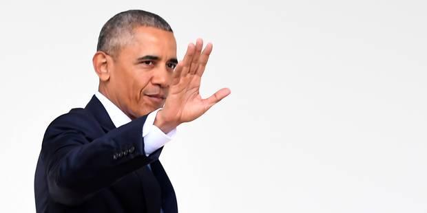 Barack Obama fait ses adieux sur Twitter et crée une fondation - La Libre