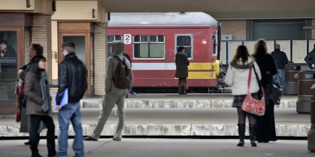 La ponctualité des trains repasse sous les 90% en 2016 - La Libre