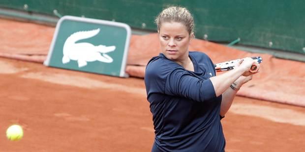 Un come-back de Kim Clijsters? Elle a répondu à la question à la télévision flamande - La Libre