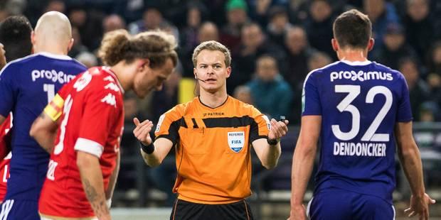 Clasico: A 9 contre 11, le Standard obtient le nul à Anderlecht (0-0) - La Libre