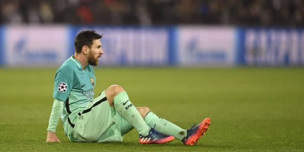 Après la déroute au PSG, voici la liste des joueurs que Messi veut voir quitter le Barça - La Libre