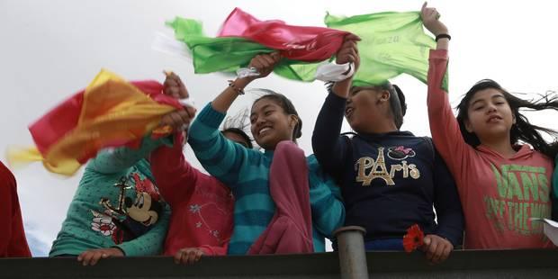 Mexique: une chaîne humaine pour protester contre le mur de Trump - La Libre