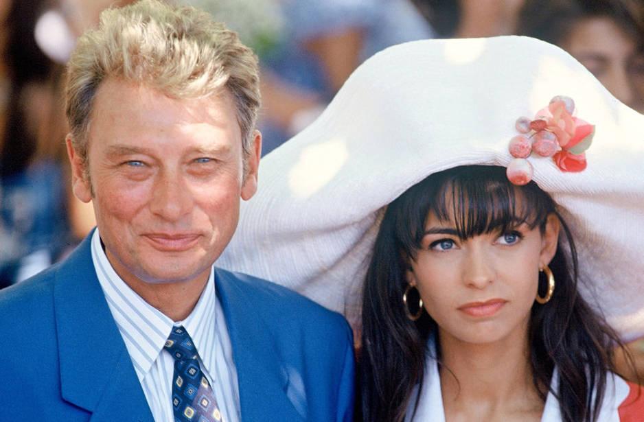 Avec Adeline Blondieau, premier mariage, elle a 19 ans