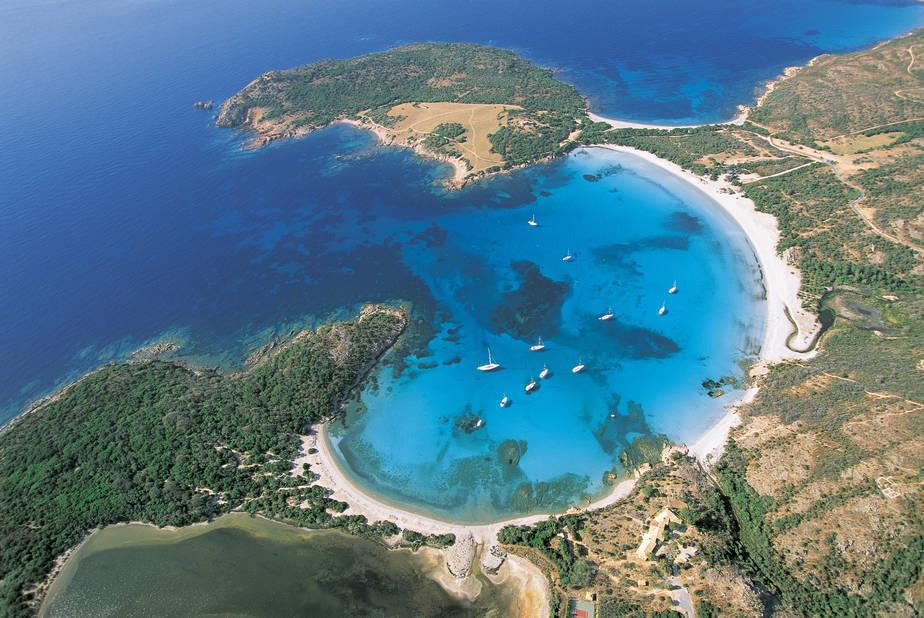 La plage de Rondinara (Bonifacio) ou l'impression d'être dans un lagon polynésien !