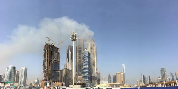 Dubaï: nouvel incendie près de la plus haute tour du monde - La Libre