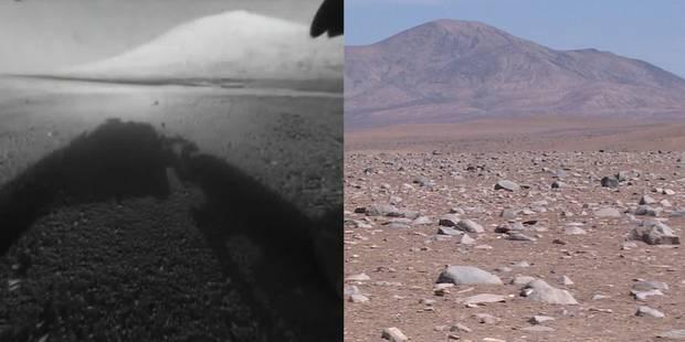 La vie sur mars étudiée dans le désert chilien - La Libre