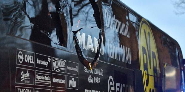 """Explosion Dortmund : """"Les bombes placées près du bus du Borussia étaient très professionnelles"""" - La Libre"""