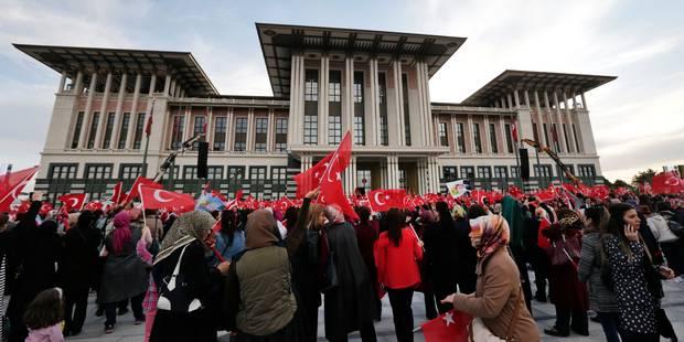 Turquie: purges à plein régime après la victoire d'Erdogan - La Libre