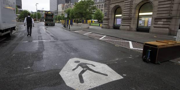 Un premier pas envers la mobilité autour du piétonnier - La Libre