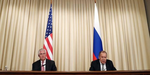 """Tillerson et Lavrov discutent de la mise en oeuvre d'une """"désescalade"""" en Syrie - La Libre"""
