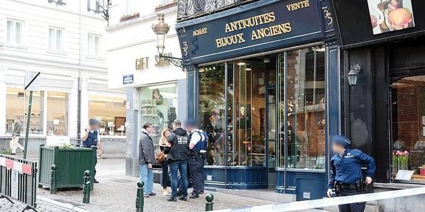 Bruxelles : Ce que l'on sait sur l'agression de l'antiquaire laissé pour mort dans sa boutique - La Libre