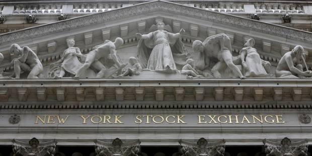 Petit rebond de Wall Street, le facteur Trump réévalué - La Libre