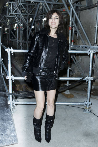 Charlotte Gainsbourg au défilé de mode