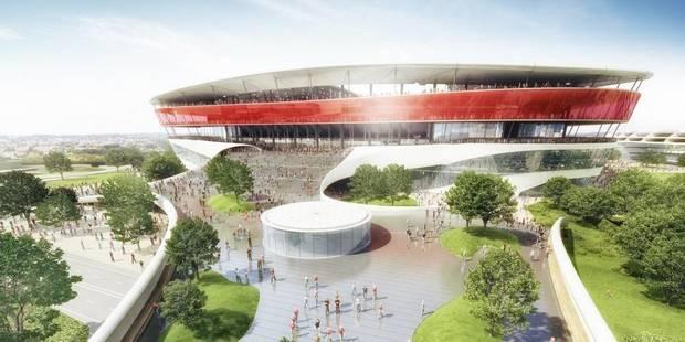 Nouvelle tuile pour le Stade national! - La Libre