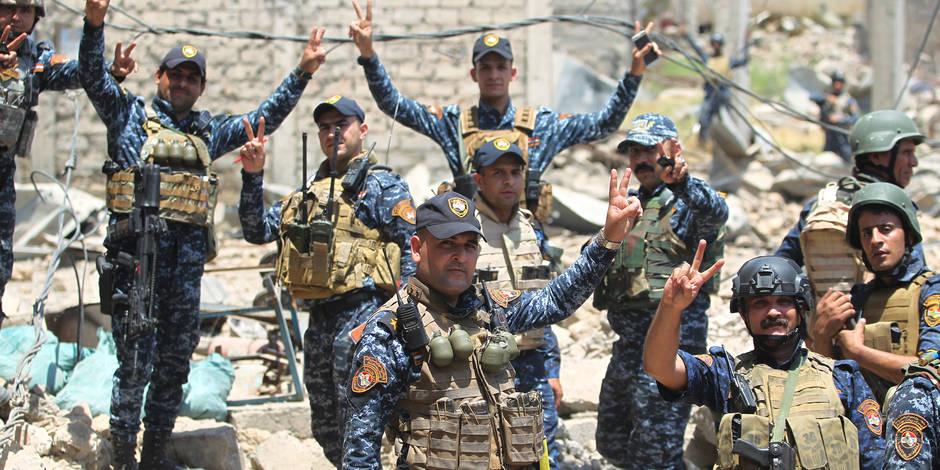 L'EI encerclé par l'armée à Mossoul — Irak