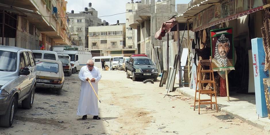 Bombardements israéliens sur la bande de Gaza — Palestine