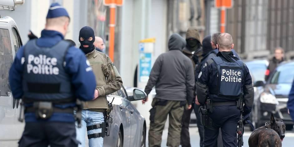 Menace terroriste: deux des 4 personnes interpellées à Anderlecht sous mandat d'arrêt
