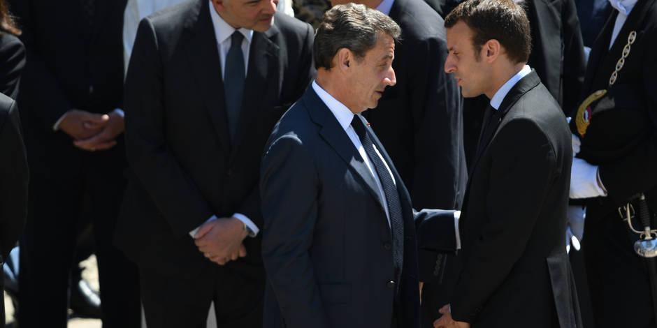 Dîner des couples Macron et Sarkozy — Elysée