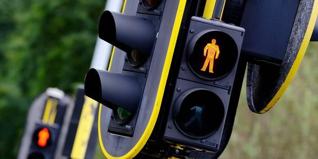 Des feux de signalisation pour prévenir de l'arrivée des trams - La Libre