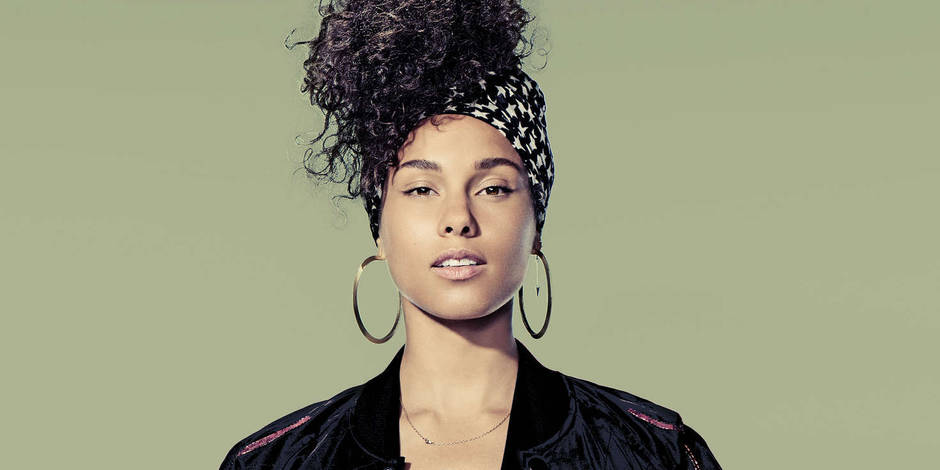 alicia keys hairstyle 2017 - photo #17