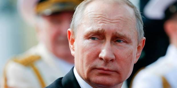 Poutine annonce le renvoi de 755 diplomates américains, en riposte aux sanctions - La Libre