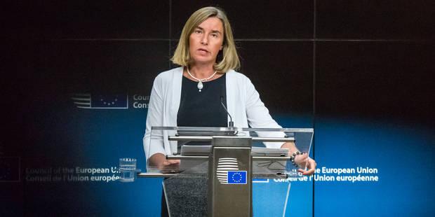 Pour l'UE, l'accord nucléaire iranien respecté malgré les sanctions américaines - La Libre