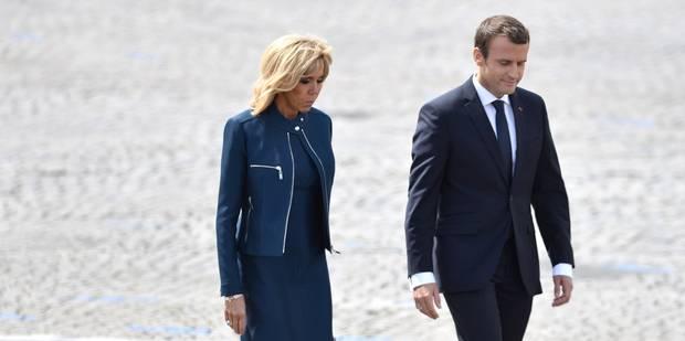 Une pétition contre un statut de première Dame pour Brigitte Macron - La Libre